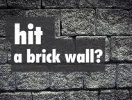 when coaching hits a brick wall