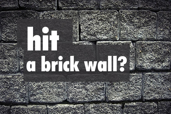 when coaching hits a brick wall
