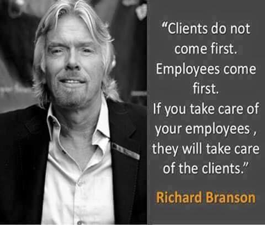 increase retention - richard branson